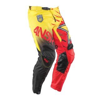 pantalón ANSR elite rockstar 2015 adulto rojo/amarillo